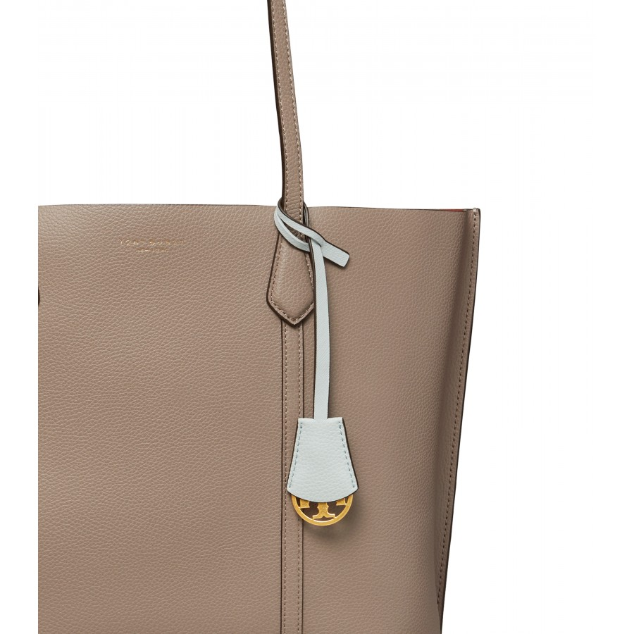 PERRY Triple-Compartment Tote - hnedá