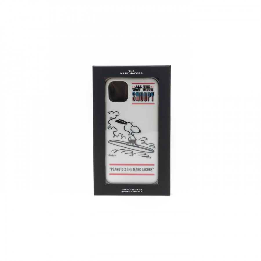Obal na telefón - IPHONE 11 PRO MAX CASE PEANUTS biely